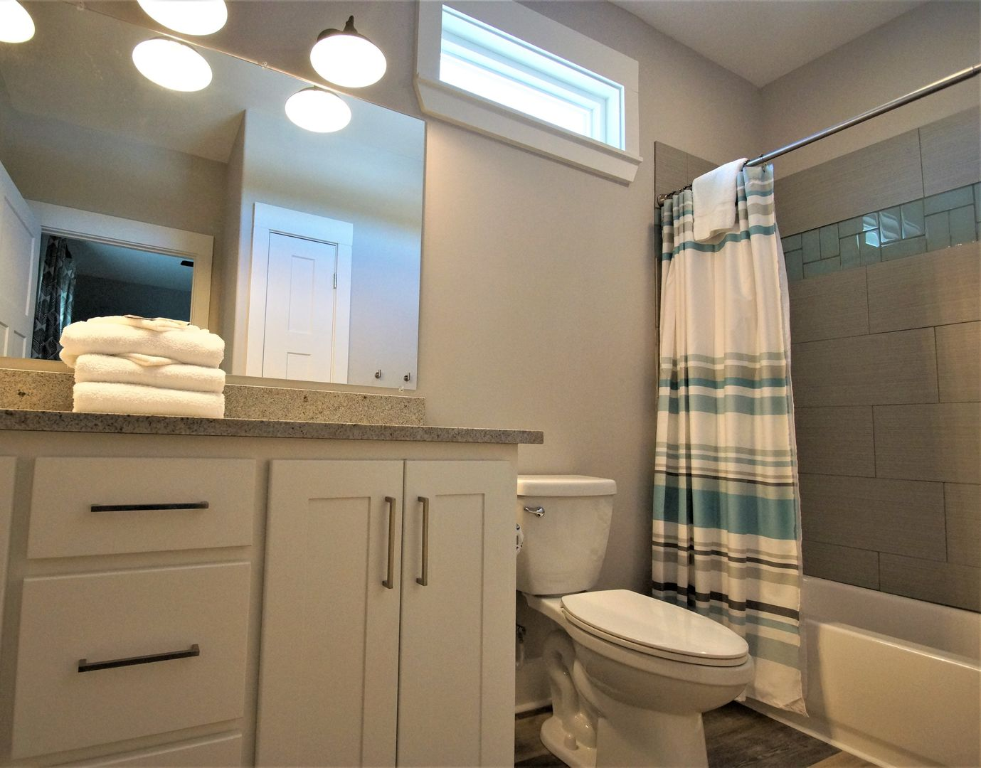 Bathroom attached to bedroom #4.