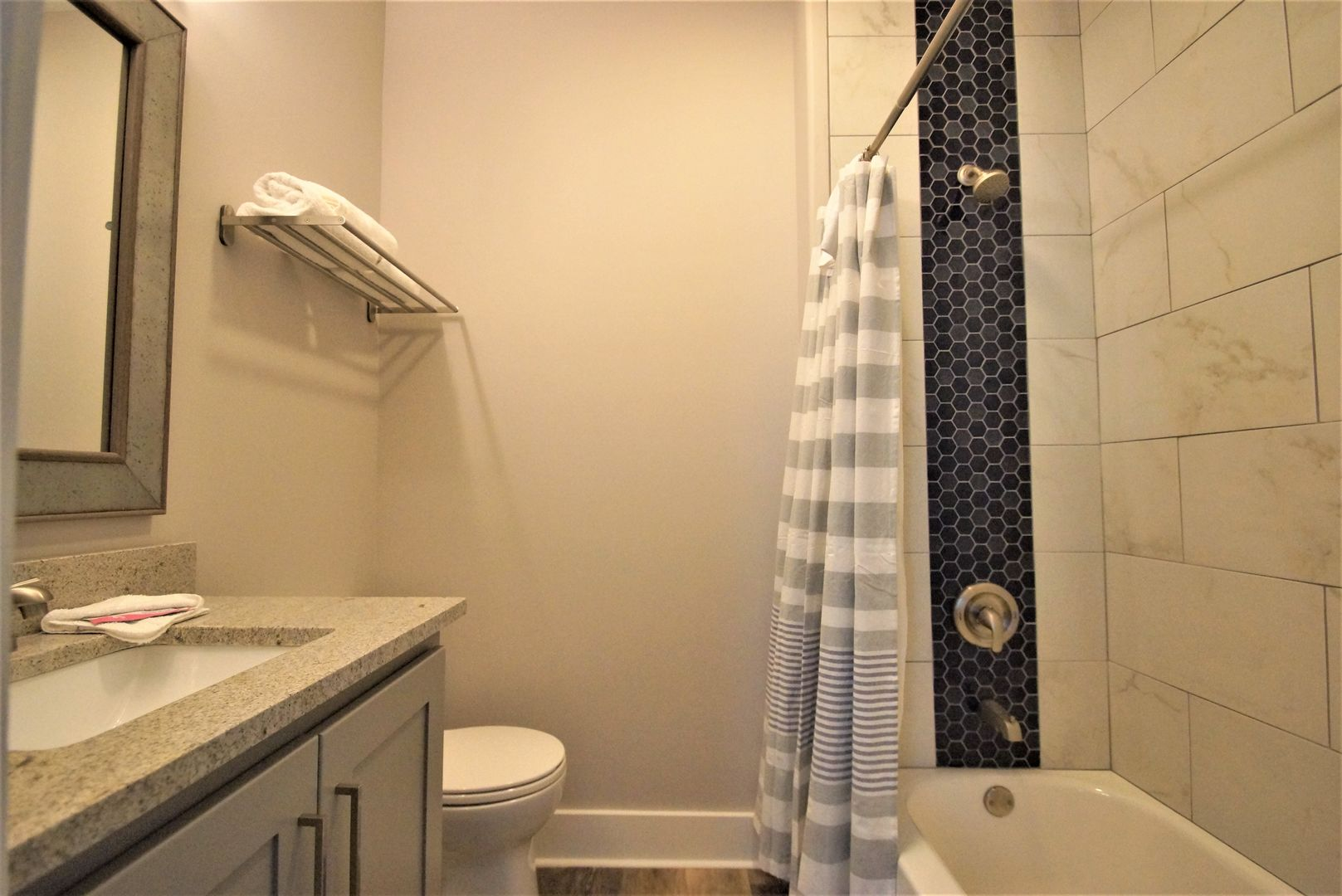 Bathroom attached to bedroom #3.