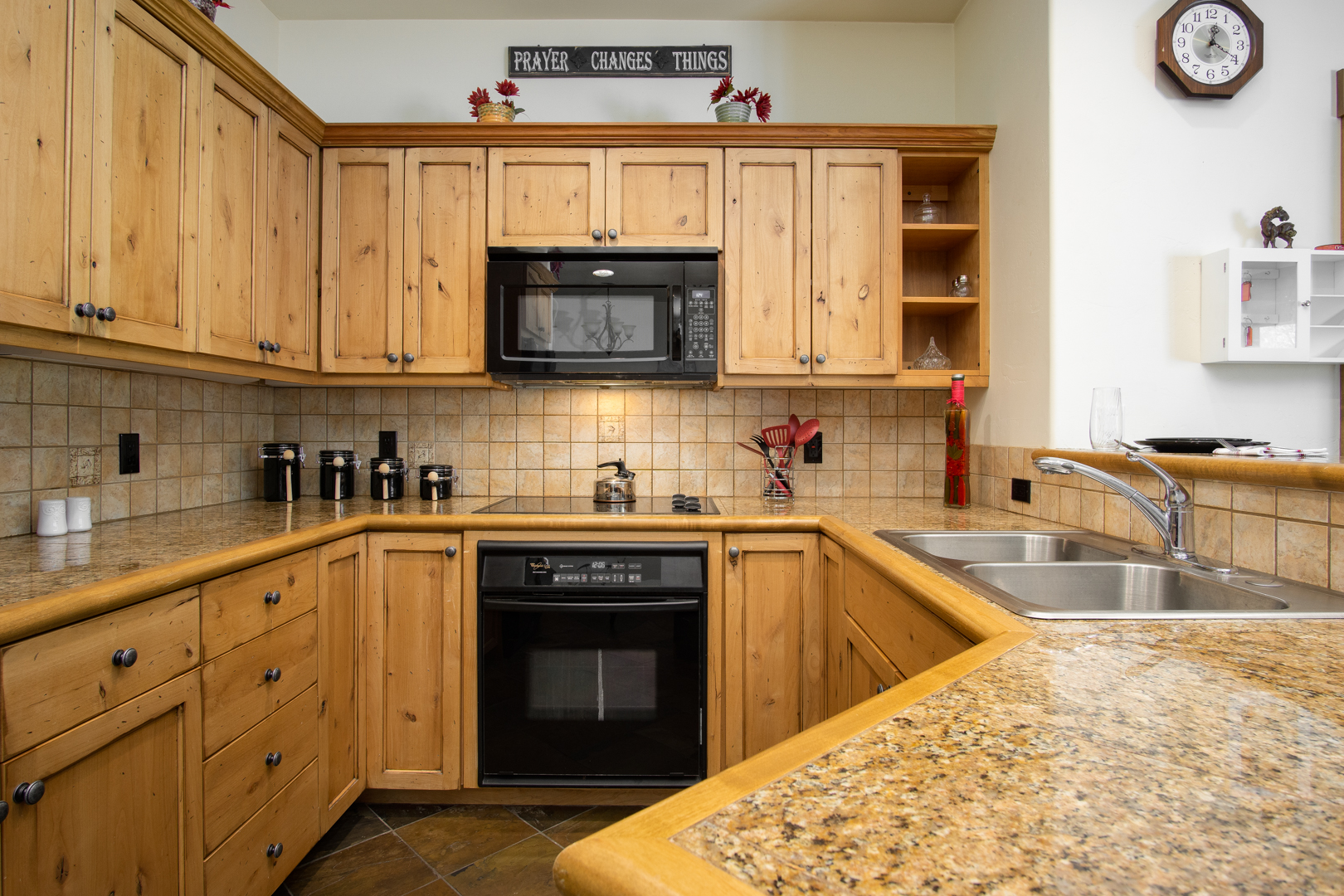 Plenty of Room to Cook a Meal in our Condo in Steamboat Springs, CO