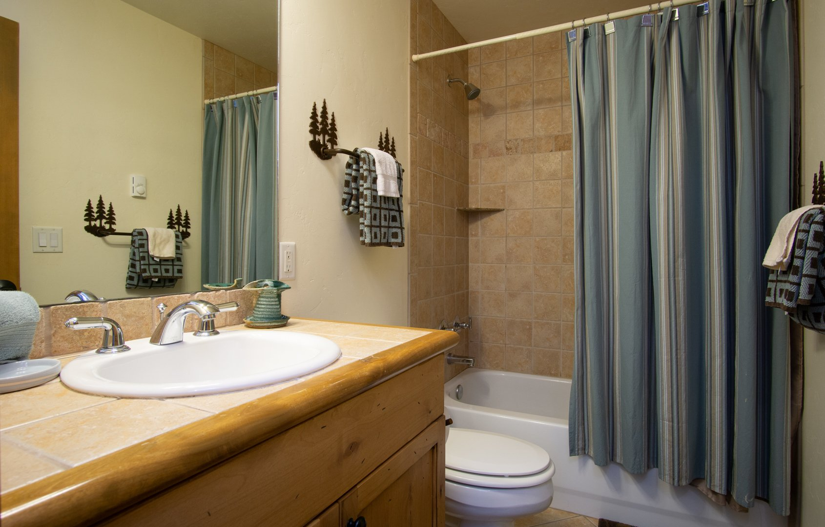 Master Bath in our Condo in Steamboat Springs, CO
