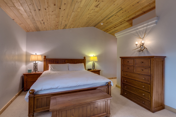 Master bedroom with dresser