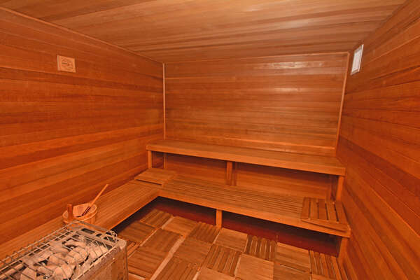 On-site facilities:- Sauna