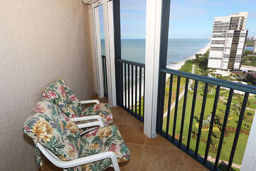 Guest Bedroom Balcony