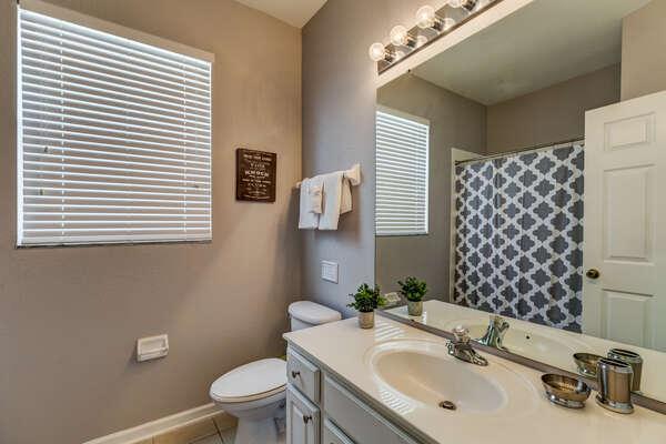 Family style bathroom