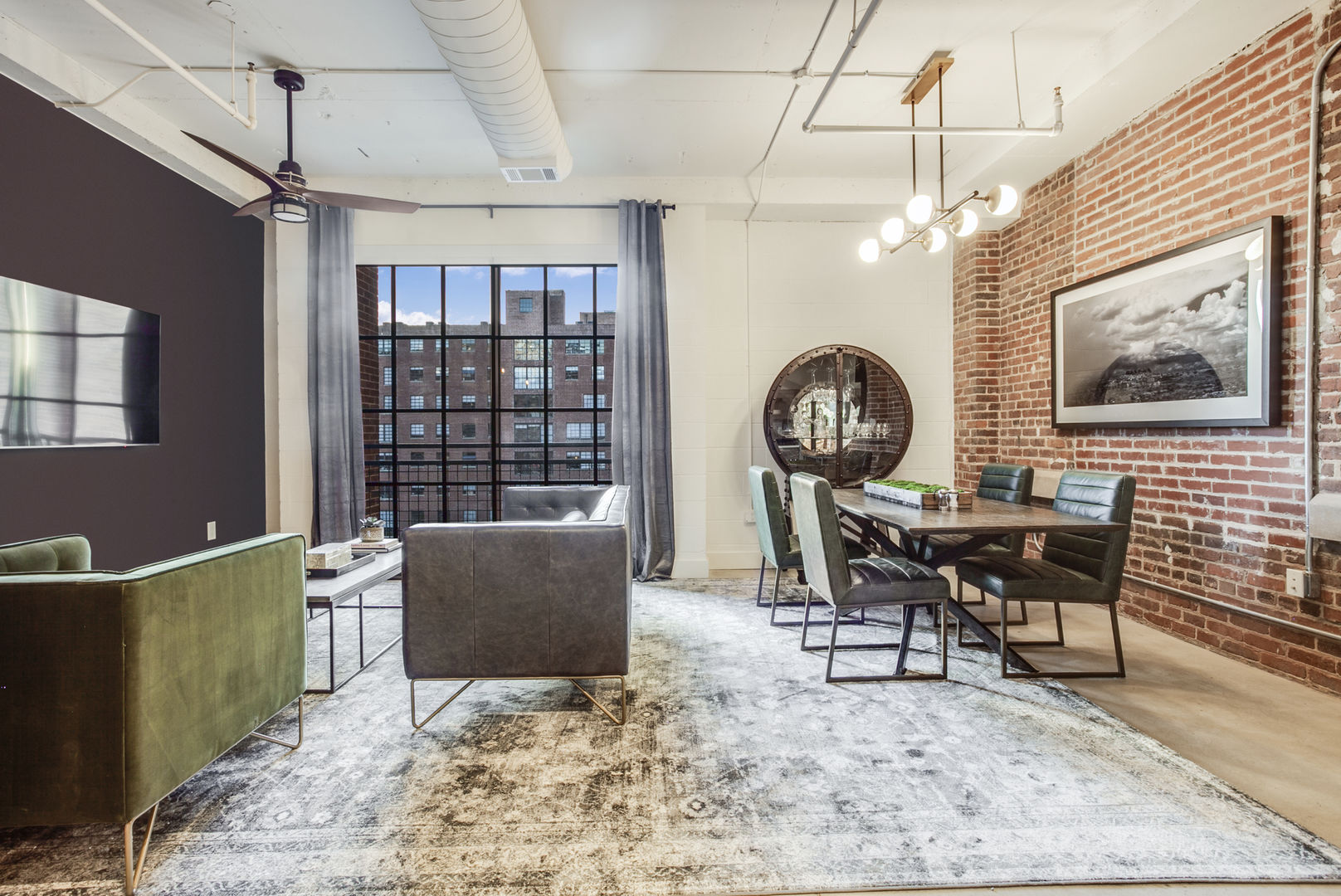 Great Views Out the Window in our Ponce City Market Apartment