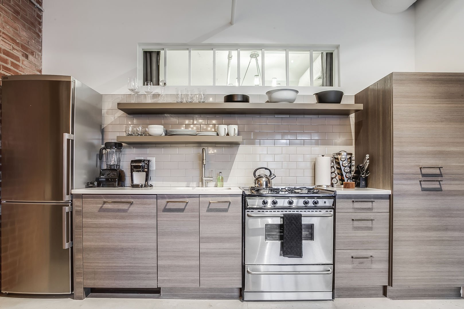 Create Meals in our Ponce City Market Apartment's Kitchen