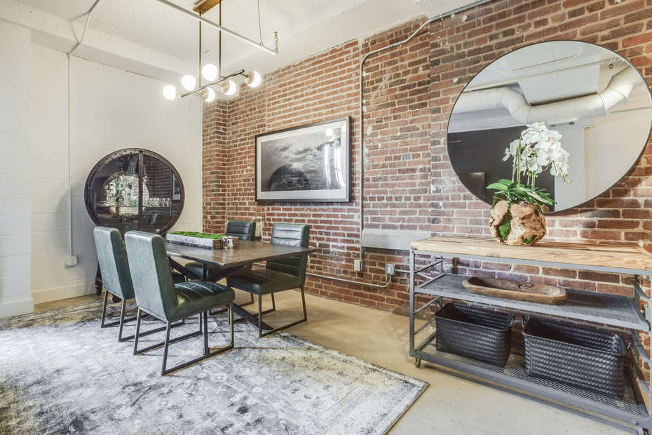 Dining Area with Room for 4 in our Ponce City Market Apartment