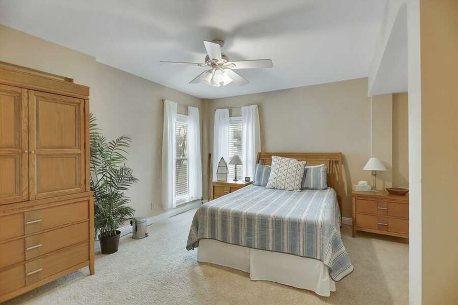 1st Guest Room has a Queen Size Bed