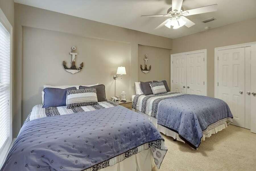 1st Floor Guest Room has 2 Queen Size Beds