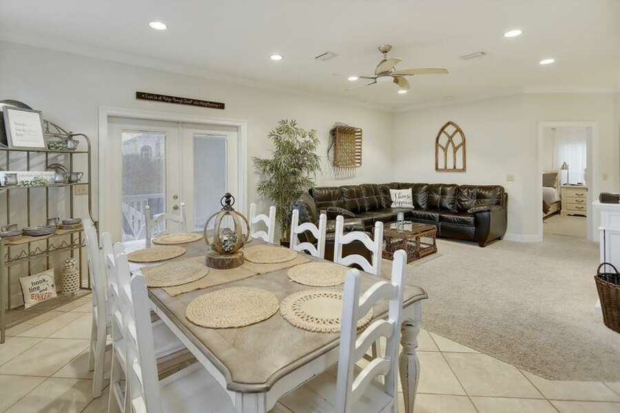 Spacious Living and Dining Areas offer plenty of comfortable seating