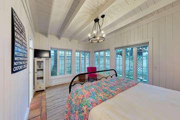 Tons of light and windows - Master Bedroom - Main Floor
