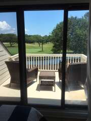 Enjoy the sunny days from the upper decks.  There is one on both sides of the bedroom!