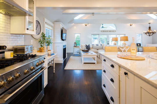 Updated chef's kitchen - 55 Lime Hill Chatham Cape Cod - New England Vacation Rentals