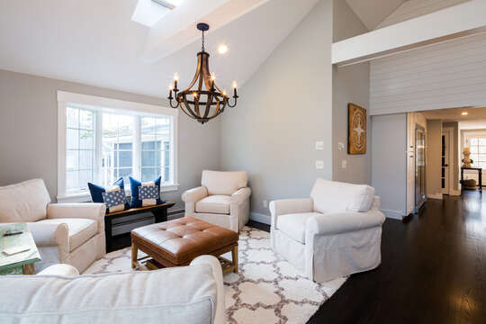 More seating in the great room - 55 Lime Hill Chatham Cape Cod - New England Vacation Rentals