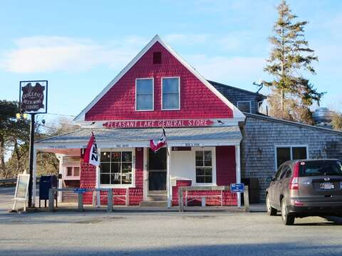 0.5 Miles to Pleasant Lake General Store - coffee, bagels, sandwiches, burritos, and more!- Harwich Cape Cod - New England Vacation Rentals