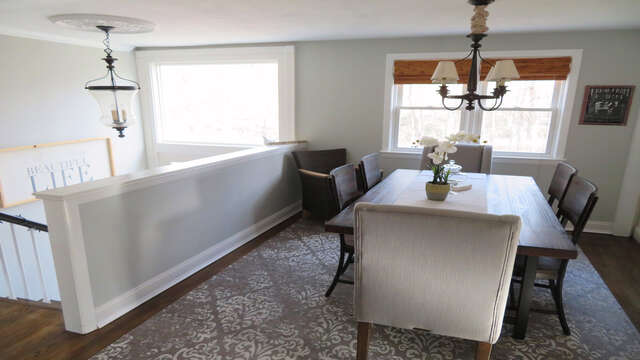 Dining room on top main level - 10 Seventh Street Harwich Cape Cod - New England Vacation Rentals