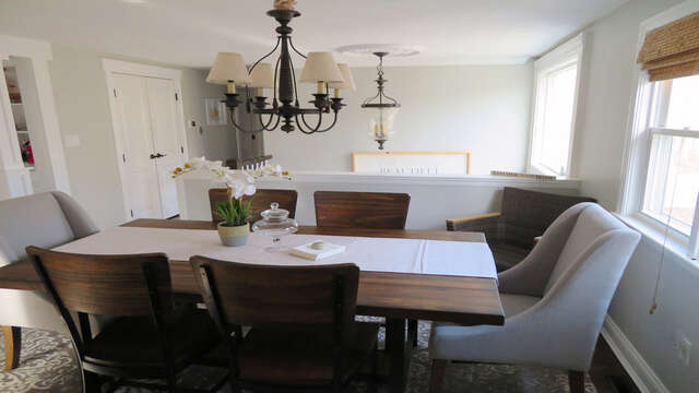 Another view of the dining area - 10 Seventh Street Harwich Cape Cod - New England Vacation Rentals