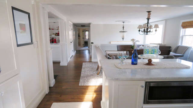 Open concept upper level - 10 Seventh Street Harwich Cape Cod - New England Vacation Rentals