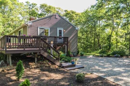 Ample size yard, perfect for summer play! - 10 Seventh Street Harwich Cape Cod - New England Vacation Rentals