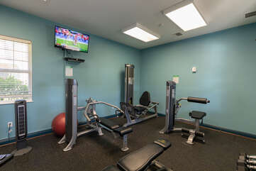 Waikoloa Colony Villas fitness center