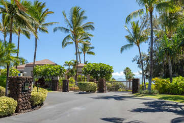 Waikoloa Colony Villas main entrance