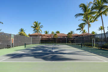Waikoloa Colony Villas common area tennis courts