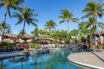 Waikoloa Colony Villas common area pool