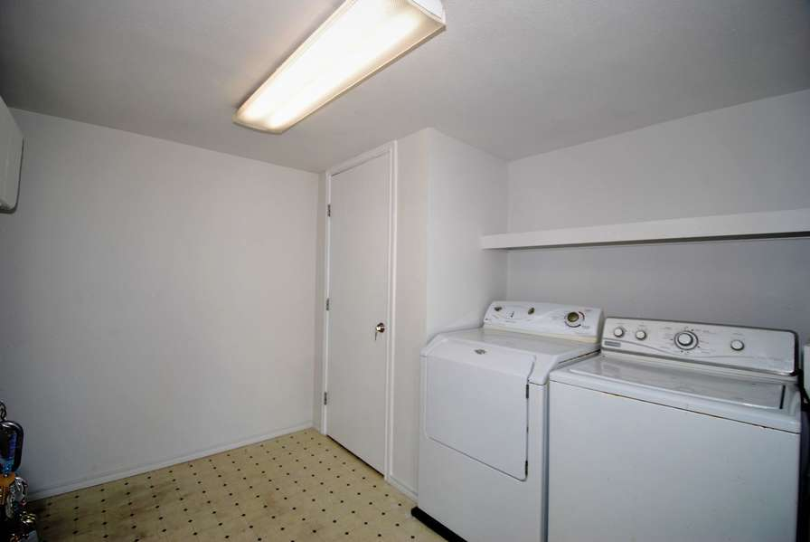 Laundry room located on 1st floor