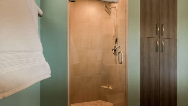 Luxurious Shower in Bathroom
