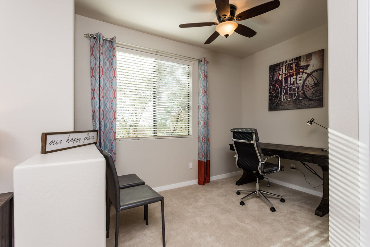Office area in Master bedroom