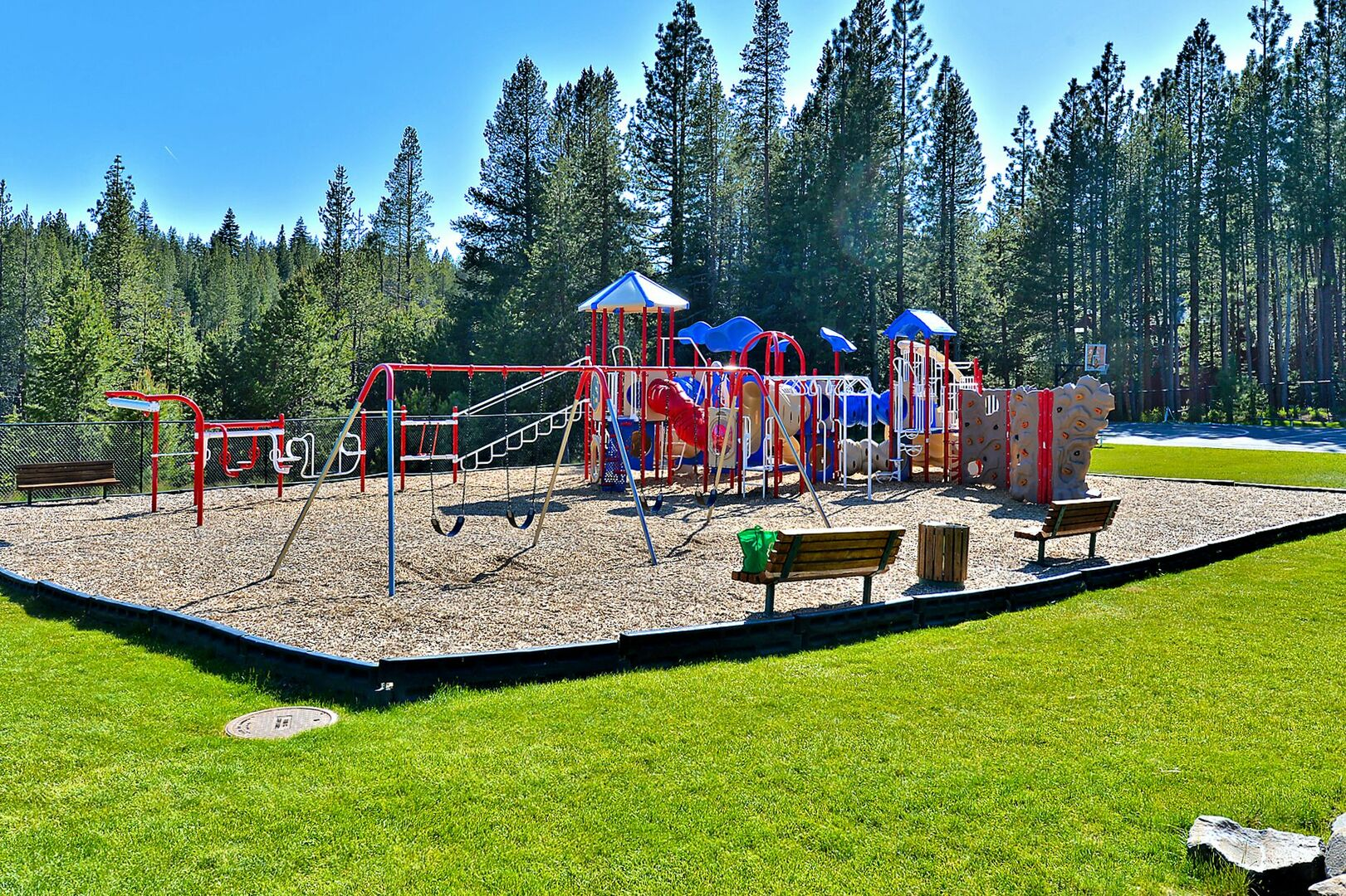 Playground at the Trout Creek Rec Center