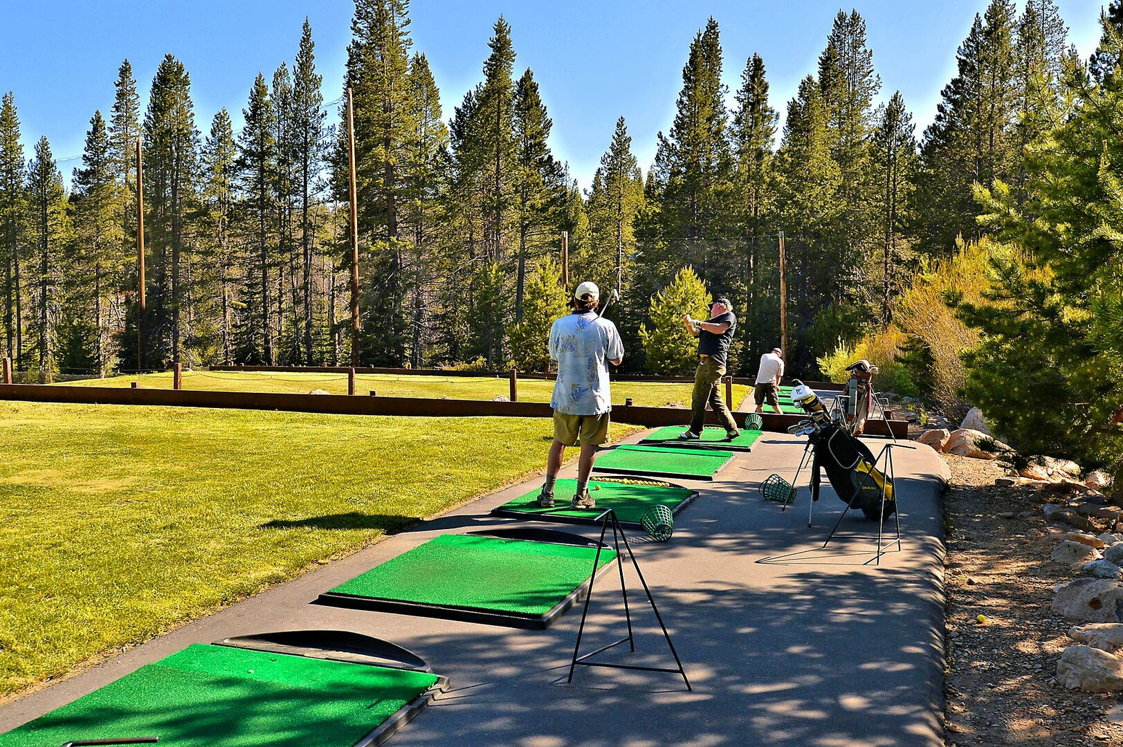 Driving Range at the Rec Center