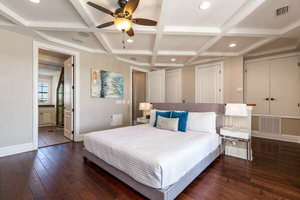 Head up to the third floor for this gorgeous third master suite