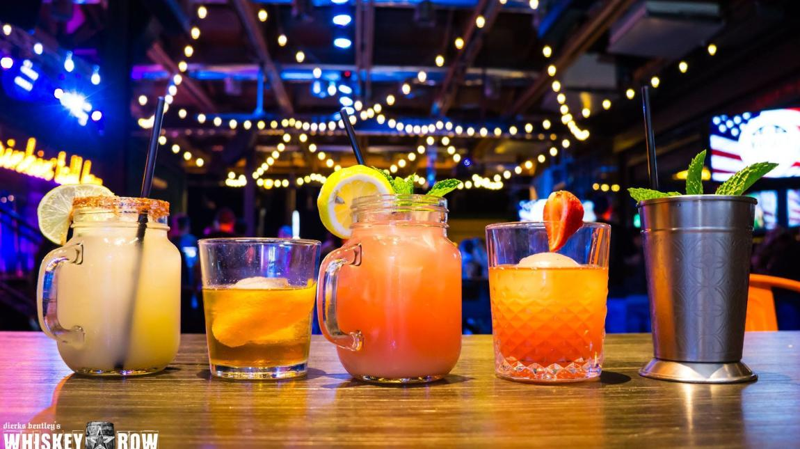 Grab craft cocktails and watch live music at Dierks Bentley's Whiskey Row in Old Town Scottsdale