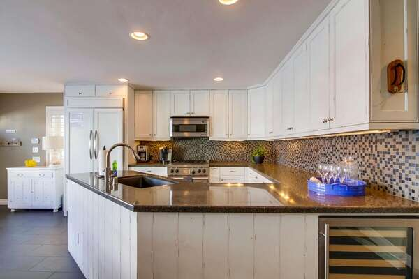 Fully Stocked Kitchen in our San Diego Condo Rental