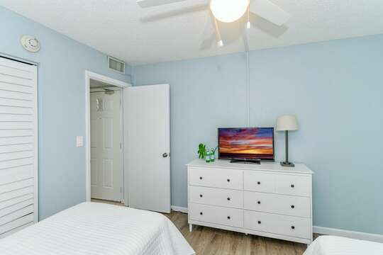 TVs in all bedrooms