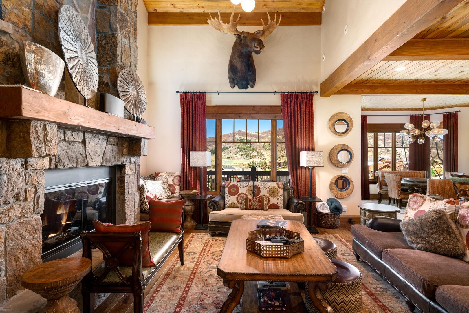 Moose Peak! Beautiful furnishings, detailed to perfection!!