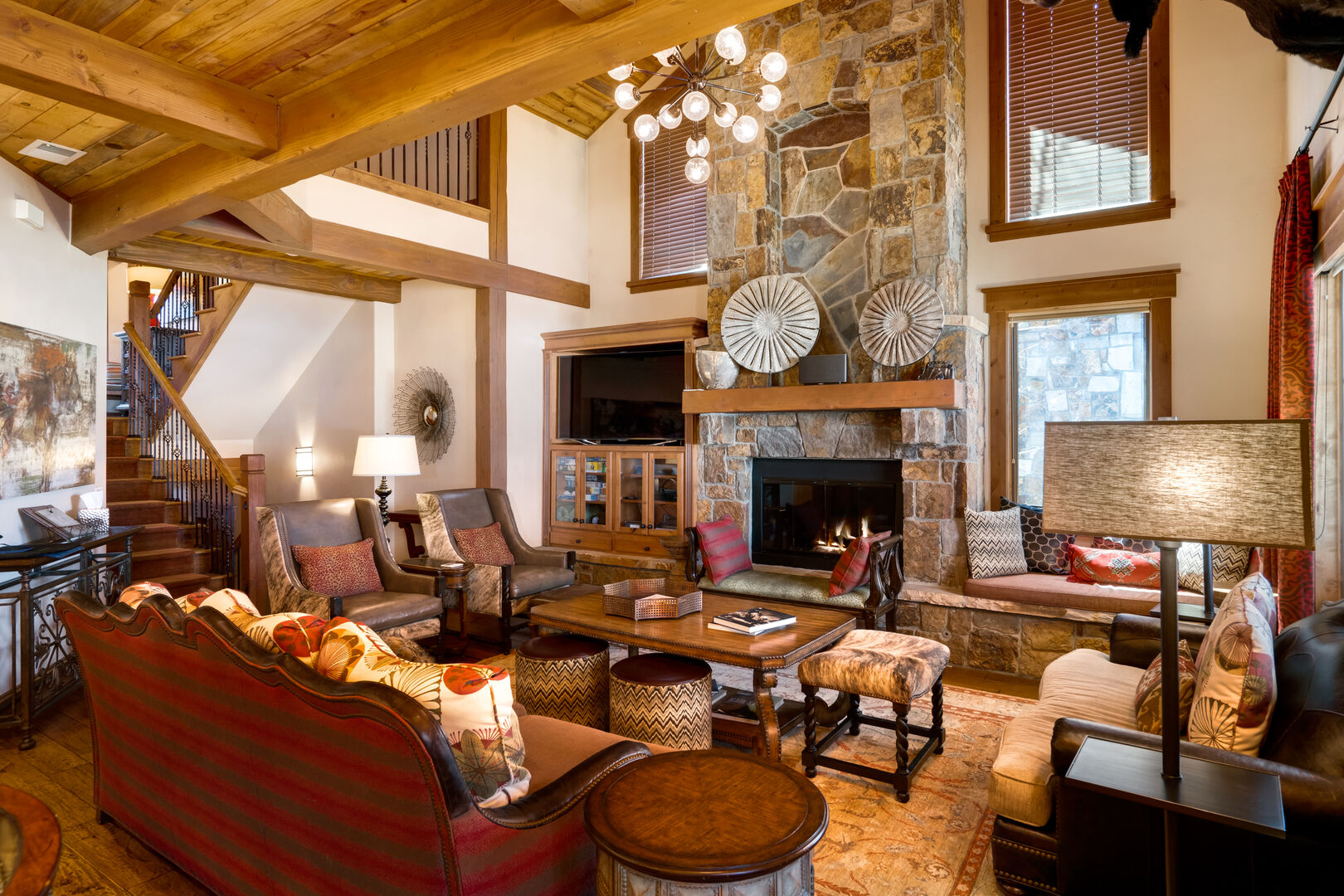Amazing Decor and Furnishings in this Luxury Steamboat Springs Townhome!