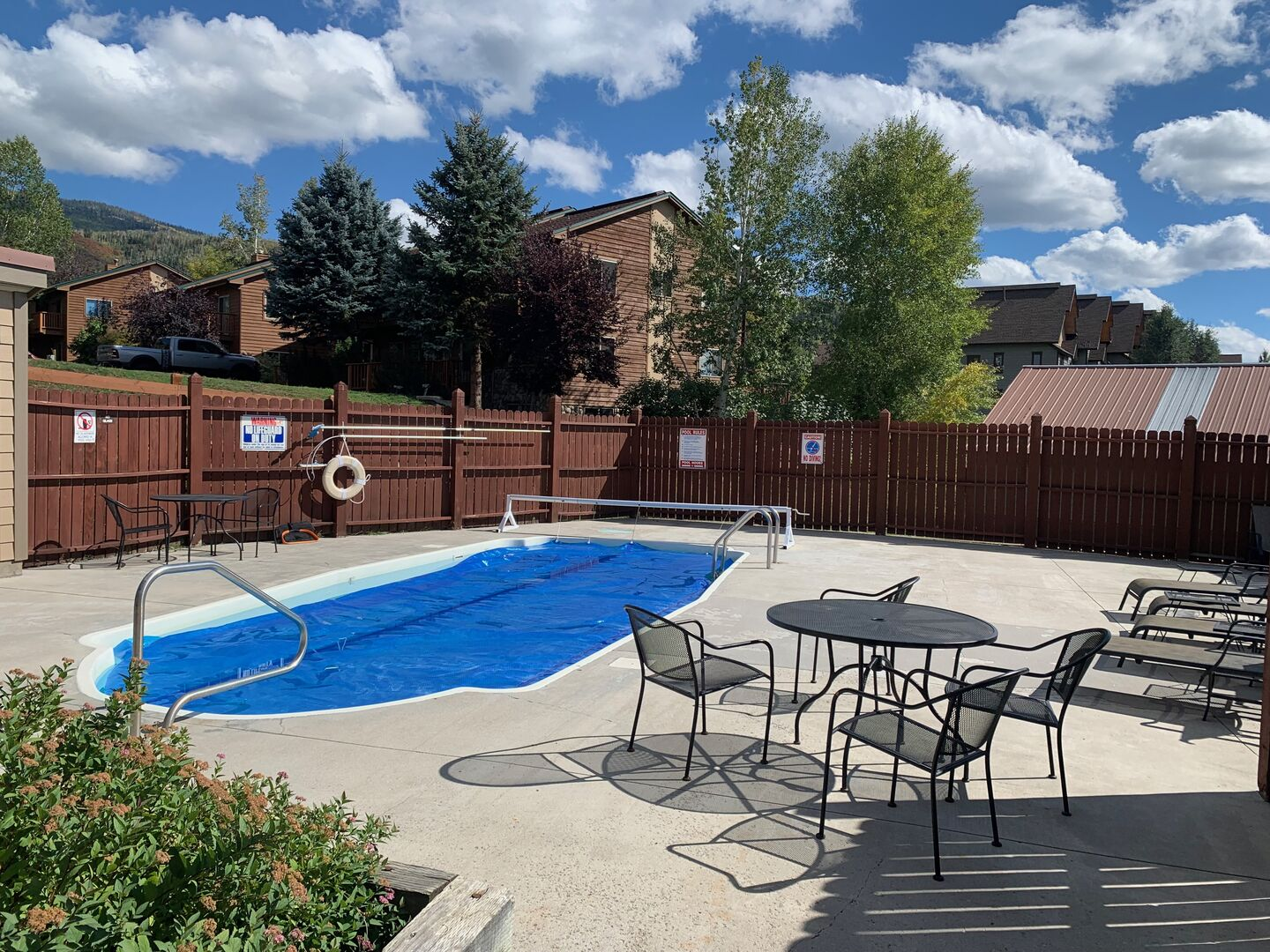 Pool - open in the summer!