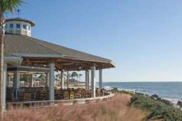 Pelicans Nest outdoor restaurant/bar
