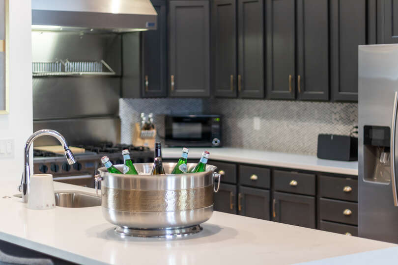 Image of Counter in Luxury Kitchen in Vacation Rental in Scottsdale
