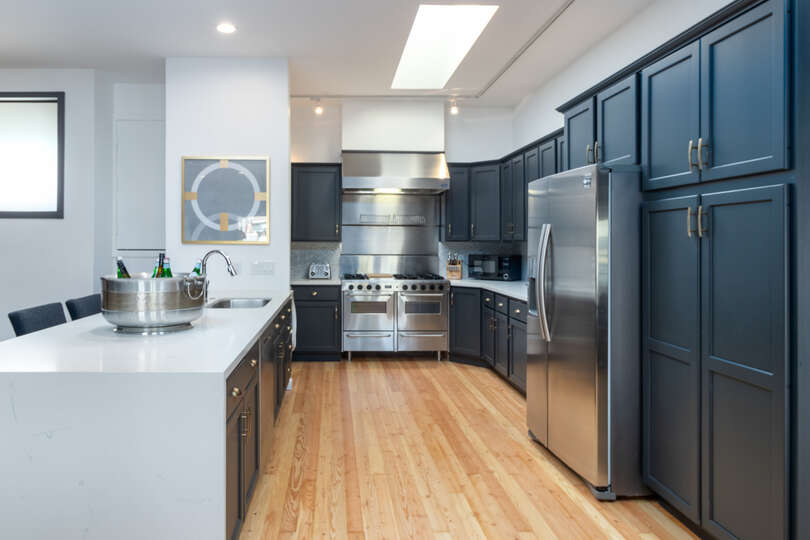 Kitchen With Premium Appliances and Plenty of Cabinet Space.