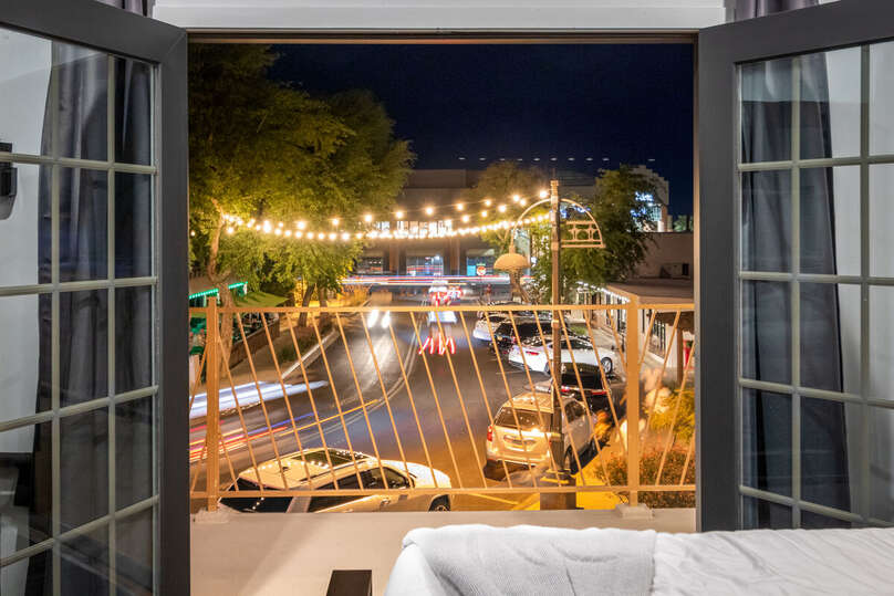 Image of Patio Attached to Luxury Vacation Rental in Scottsdale.