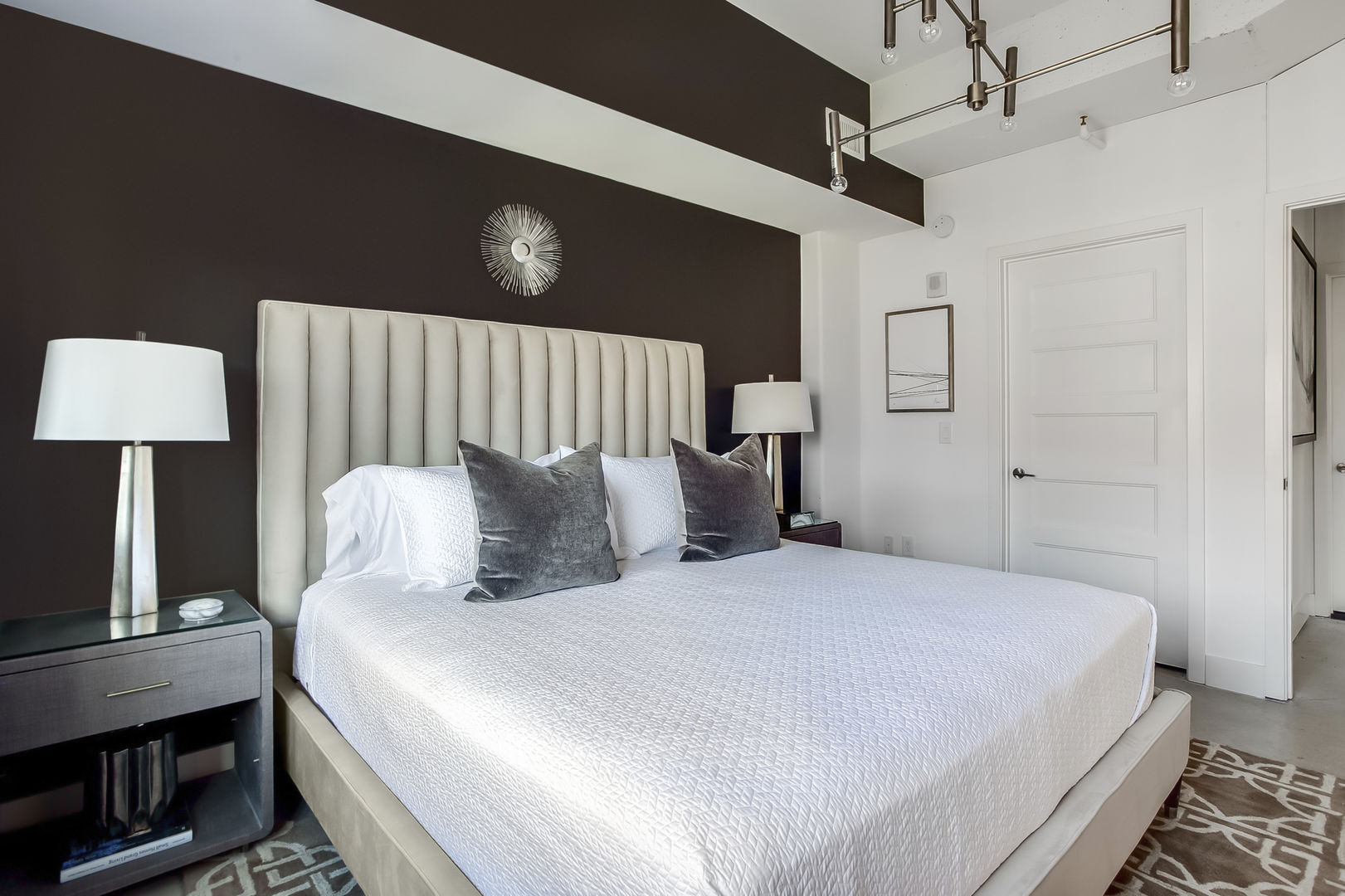 Modern Bedroom in our Ponce Apartment in Atlanta