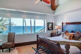 Master bedroom #1 - ocean view, king bed