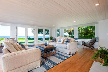 Family Room Overlooking Lake Michigan
