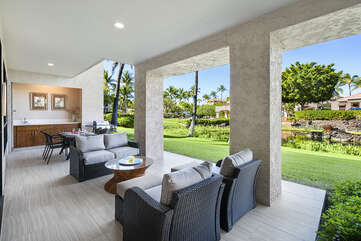 Large Lanai *due to complex new rules, BBQ no longer available