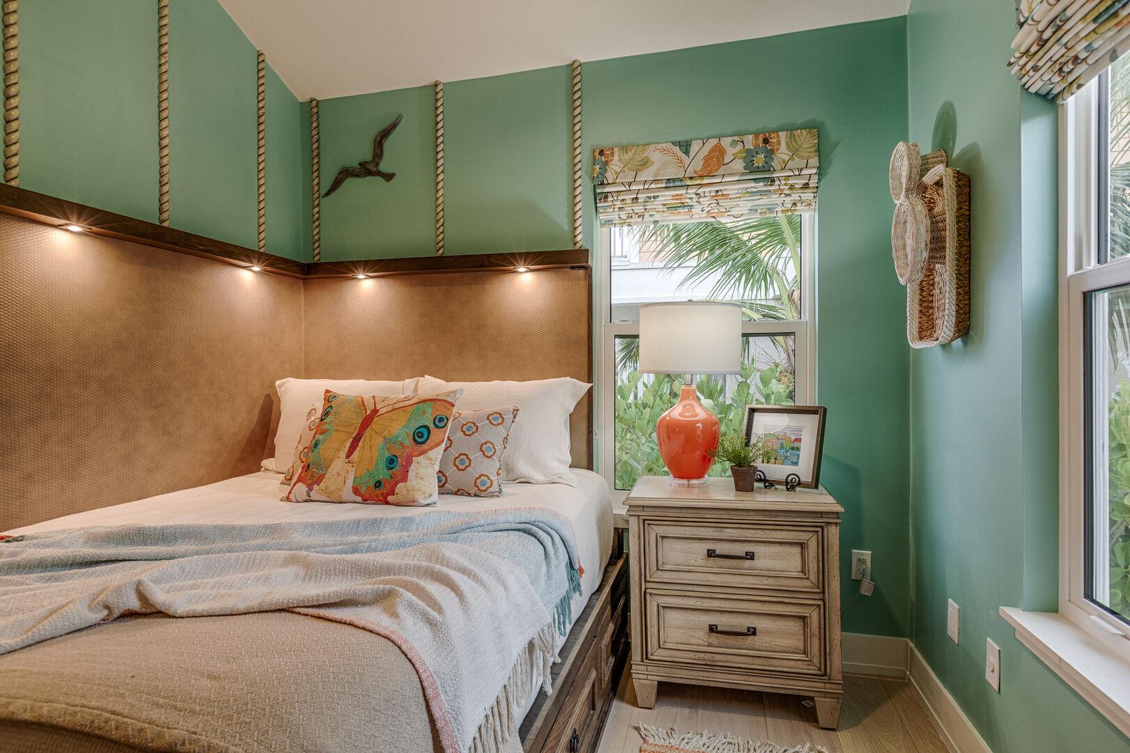 Beachy Bedroom at Beach Rental Fort Myers Beach