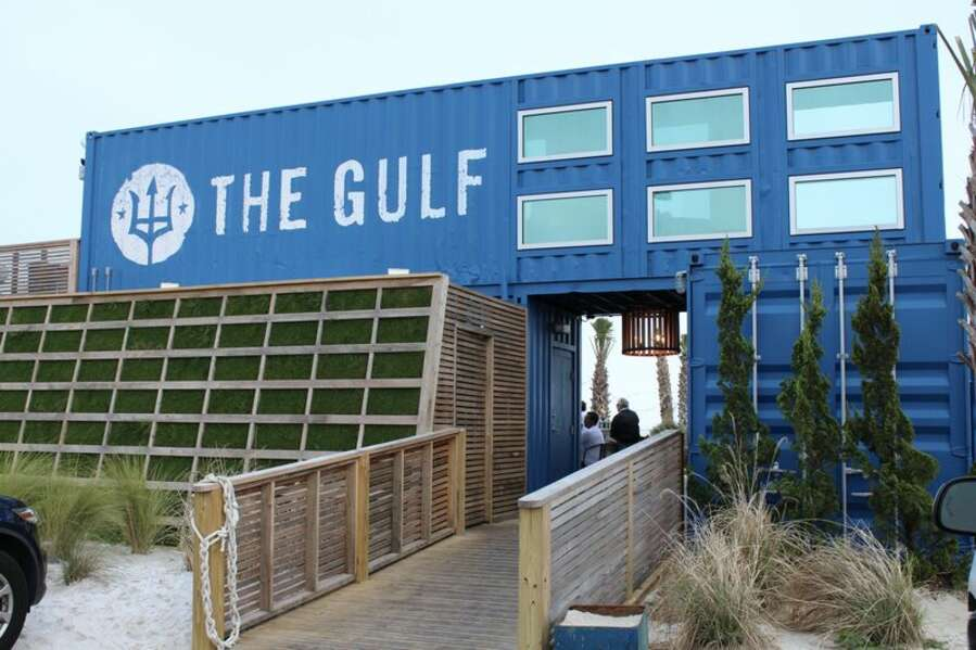 The Gulf Casual Dining spot by the water