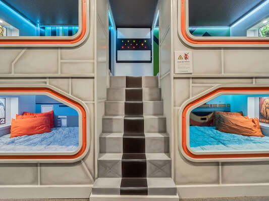 These customized beds will have kids dreaming of other worlds